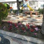 Цветы на Эспланаде