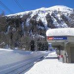 La gare de Morteratsch