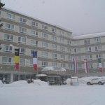 Le club sous la neige