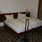 Two twin beds with the suite