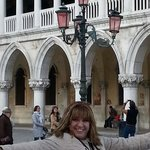 Me happy to be in venice.