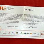 HIE DUB Airport - room #334 - bonus points voucher