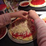 Make your own pizza!