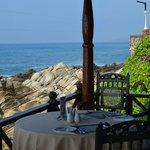 veranda (terrace) for eating