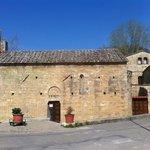 Castello della Magione a Poggibonsi, esterno della Chiesa