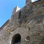 Castello della Magione a Poggibonsi, facciata della Chiesa