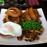 Mixed grill and trust me loads of lovely meat on here ☺ stunning stunning