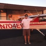 Me with the Cessna 150