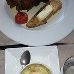 Plat détaillé 2- andouillette,gratin dauphinois