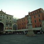 Piazza dei Signori Verona Italia