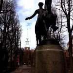 Paul Revere Statue at The Paul Revere Mall