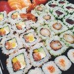 36 pieces of epic, lush, sushi!