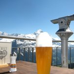 A Cold Bier at The First Restaurant