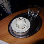 Turkish coffee- complimentary- and we are already reading fortune :-)