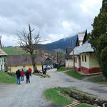Vlkolinec: wandering through the village