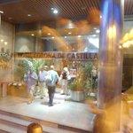 Entrada do HotelCorno de Castilla