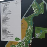 Map of the park and the recent expansion