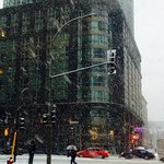 Snowy day - Le Crystal