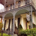 Traditional New Orleansn Wrought Iron Porches