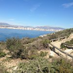 View from Benidorm Island to the mainland - great trip