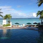 praia particular e piscina
