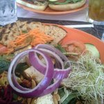 "Big Salad & Double ""burger"""