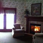 Room 4401 fireplace