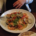 Seafood Papparadelle