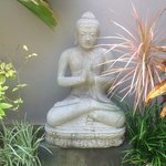 Buddha Garden in our villa