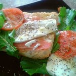 Parma, Mozzarella and Rucola Sandwich