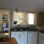 Upper Deck Kitchen / :lining room