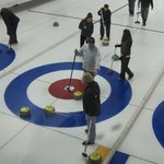 Curling Golden Foto