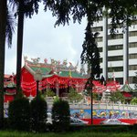 Tua Pek Kong Temple from across the street at the park