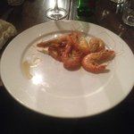 A typical serving of the so called 'all you can eat' prawns
