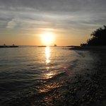 Pôr do sol incrível