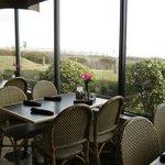 Restaurant view of the ocean
