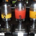 Breakfast - fresh juices