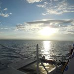 Heading out to Molokini at sunrise