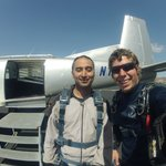 Me and Mike by SkyDive1