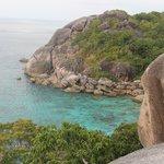 Симиланские острова вид со смотровой