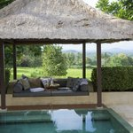 private bale and swimming pool in your suite