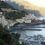 Amalfi Coast - @ 1 hour over the mountain by car