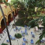 Gardens/courtyard