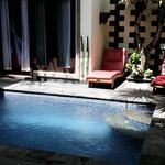 love d swimming pool area