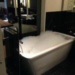 Excellent bath area