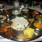 Yummy gujrati thali