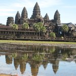 This picture is Angkor Wat.