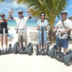 We conquered the segways!
