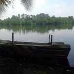 the tropical lagoon view of villa birdlake