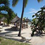 la plage ( côté case nautique)